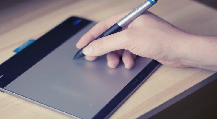 tableta gráficav